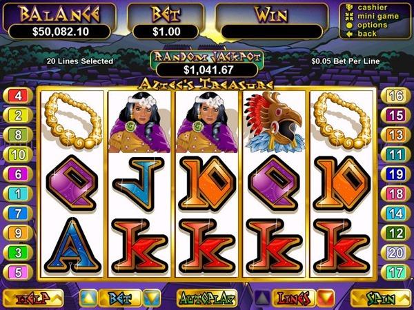 Aztecs-Treasure-RTG-slot-main-game