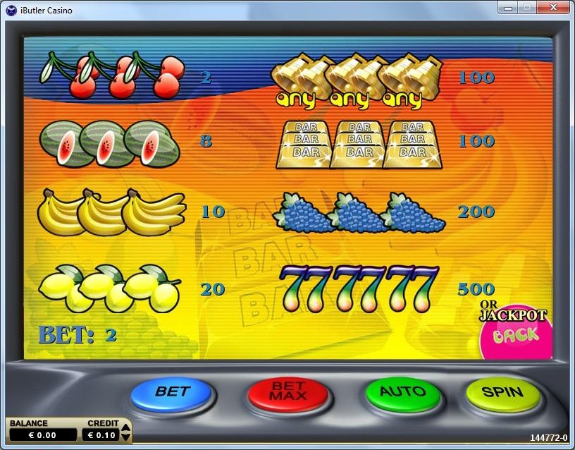 Double Juicy Slot Machine