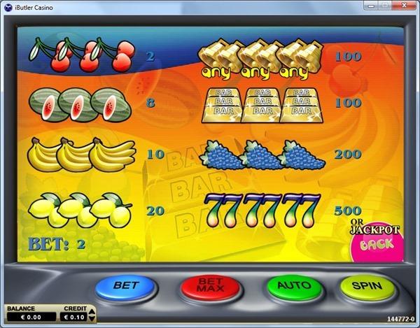 Juicy-Fruity-Slot-36Gaming-Paytable